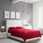 Bamboo-Sheets-Set-Red-Side