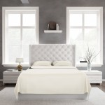 Bed Sheet Set_Ivory_Front