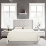 Bed Sheet Set Ivory Front scaled
