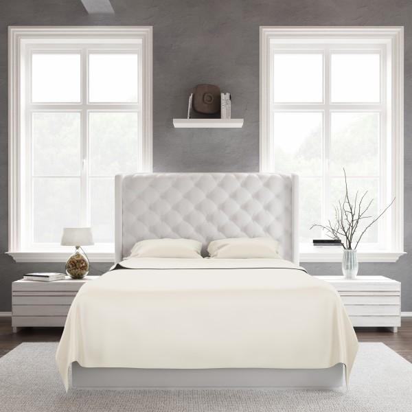Bed Sheet Set_Ivory_Front