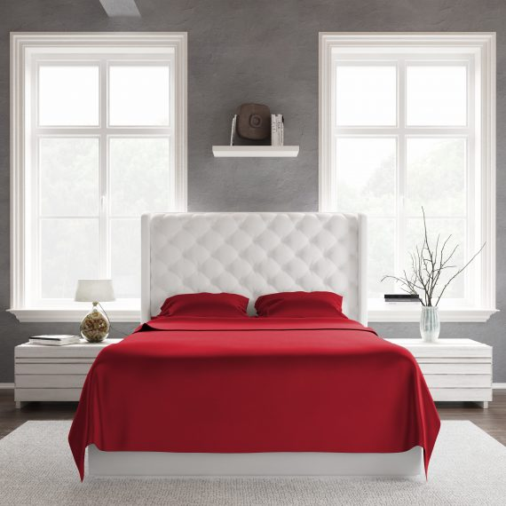 Bed Sheet Set Red Front scaled