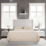Bed Sheet Set_Tan_Front