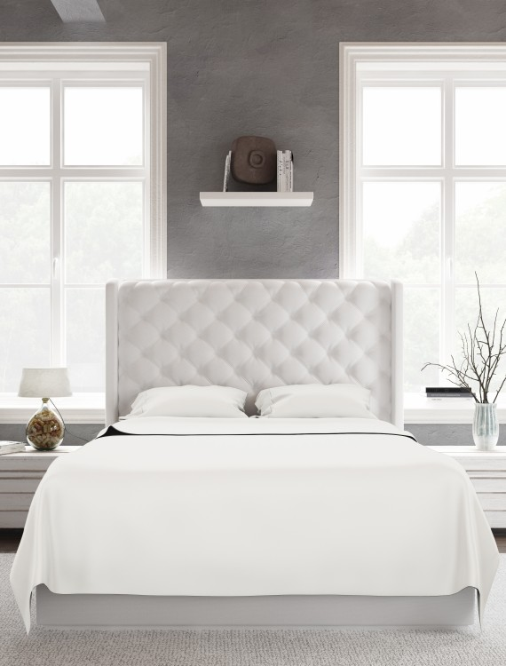 Bed Sheet Set_White_Front