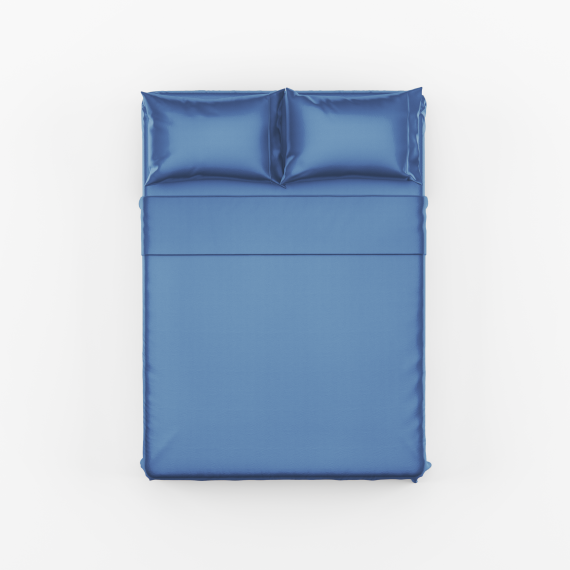 Blue Bed Sheet Set