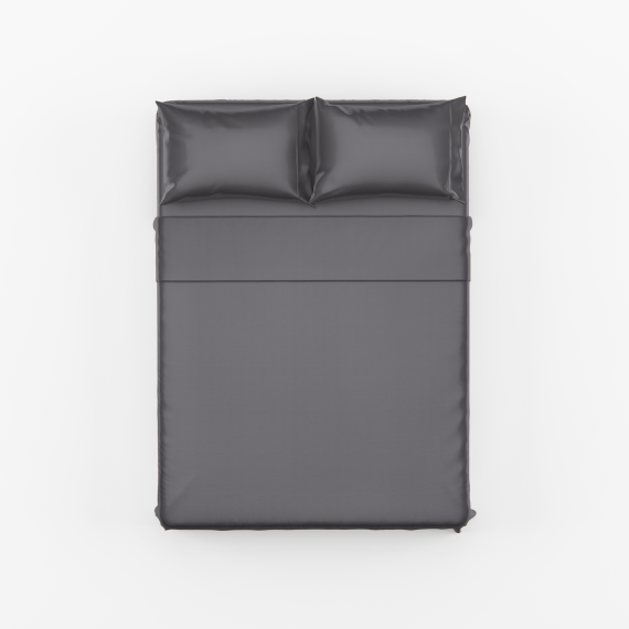 Charcoal Bed Sheet Set scaled