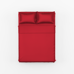 Red Bed Sheet Set