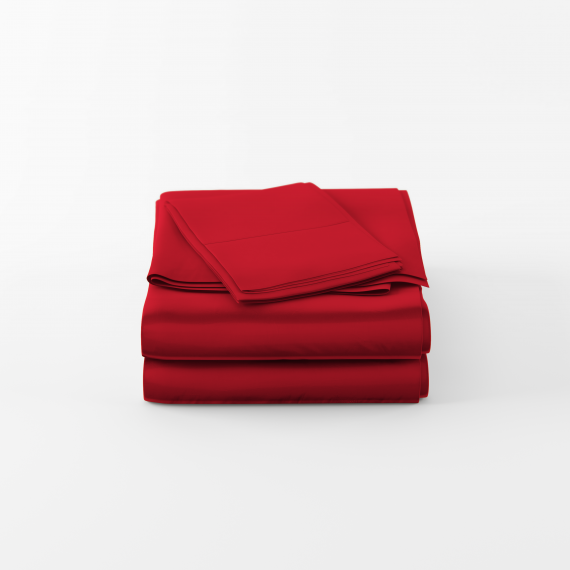 Red Sheet Set scaled