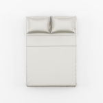White Bed Sheet Set scaled
