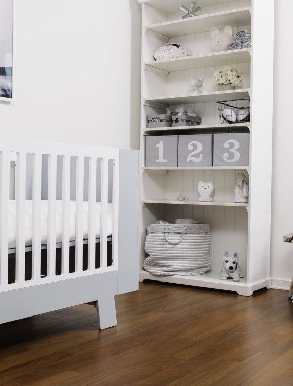 White Crib Sheet